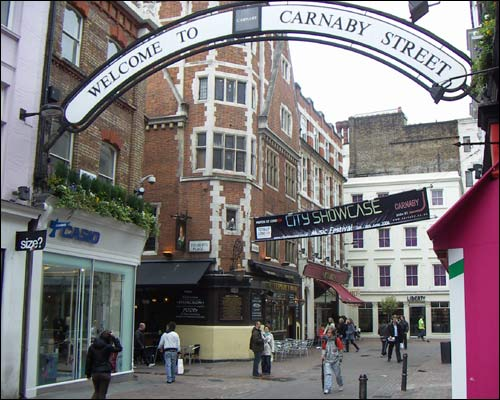 london fashion boutiques