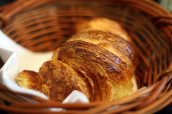 Parisian croissant