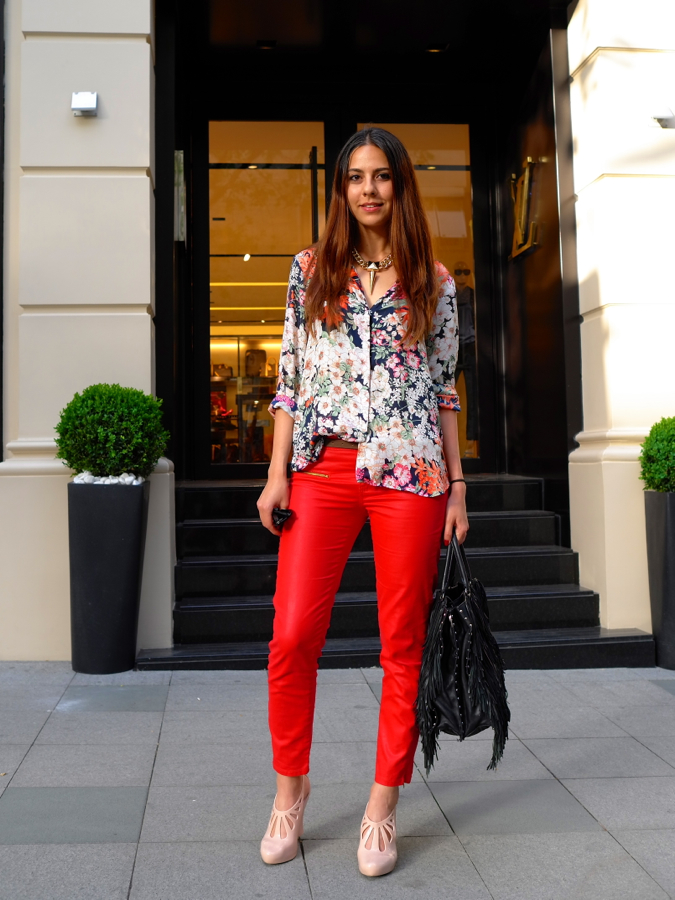 ankle pants | london street style