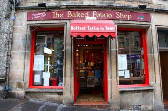 baked potato shop scotland
