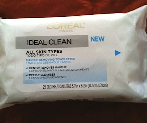 Loreal-Ideal-Clean-towelette