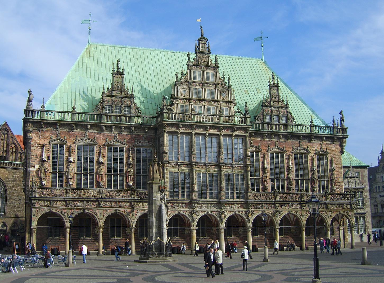 Falling in Love with the Map of Germany: Bremen town hall